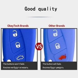 Image 5 - Okeytech 3 Nút Silicon Remote Chìa Khóa Ô Tô Ốp Lưng Khóa Dành Cho Xe BMW E31 E32 E34 E36 E38 E39 E46 Z3 z4 E90 E60 Tự Động Khóa Bảo Vệ Da