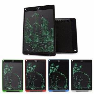 12-дюймовый ЖК-планшет для письма с цифровым рисунком планшета почерк колодки портативный электронный планшет с стилусом