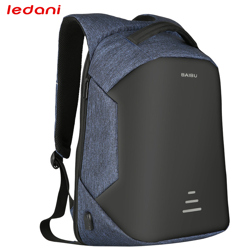 LEDANI Anti thief Multifunction USB charging Men  Laptop Backpacks For Teenager Fashion Women Leisure Travel backpack School Bag big cool 3d animal owl men s backpack fashion leisure laptop backpacks for teenager school bags travel women s backpack