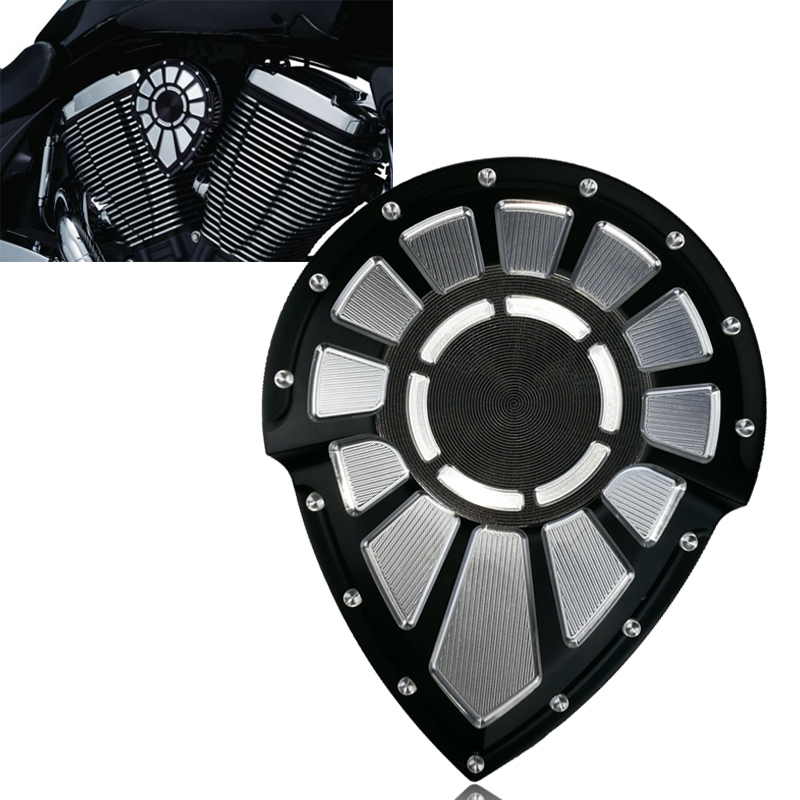 Black Contrast Cut Bahn Tuxedo Right Side Ignition Cover For Victory 2004 2005 2006 2007 2008 2009 2010 2011 2012 2013 2014 2015 motorcycle radiator grille grill guard cover protector golden for kawasaki zx6r 2009 2010 2011 2012 2013 2014 2015