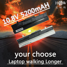 HSW Laptop Battery for Asus Eee PC 1001HA 1005 1005H 1005HA AL31-1005 AL32-1005 battery laptop ML32-1005 PL32-1005