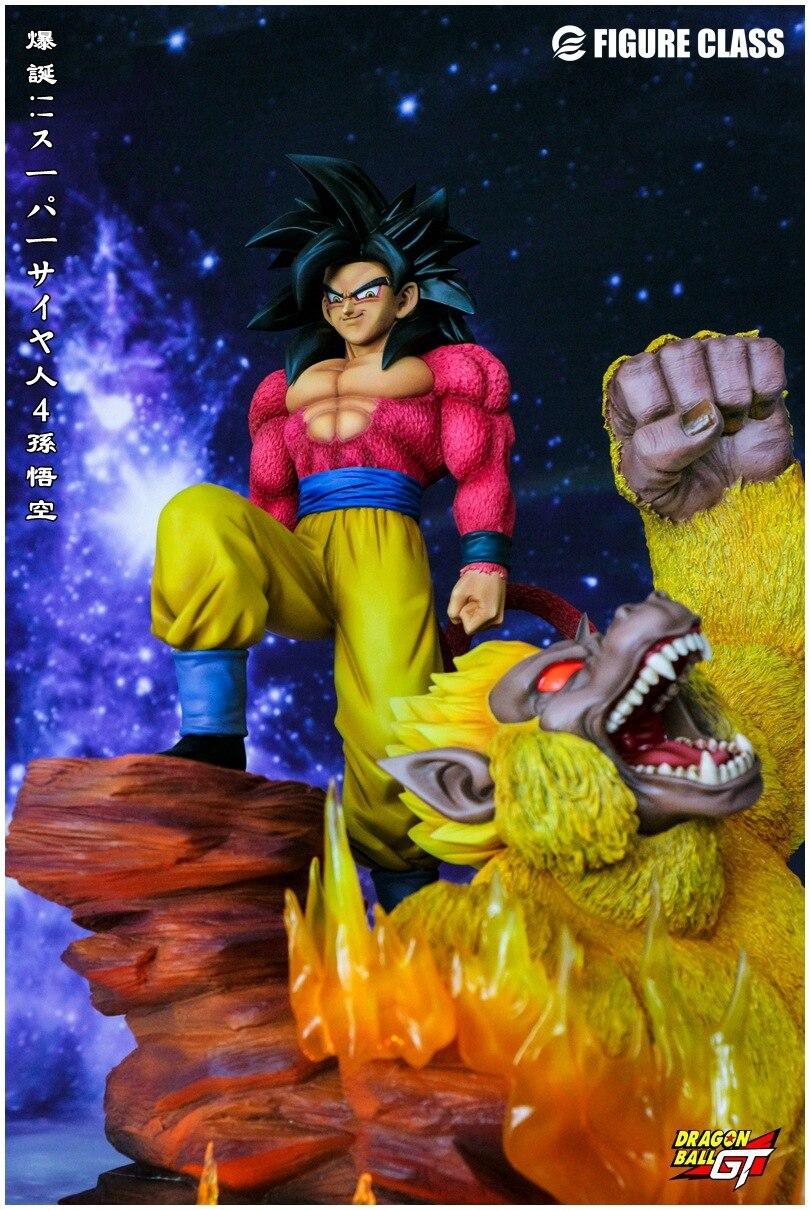 Новые горячие 33,5 см Dragon Ball GT Супер Saiyan 4 Сон Гоку Kakarotto с обезьяной фигурку коллекция игрушечные лошадки куклы Рождественский подарок