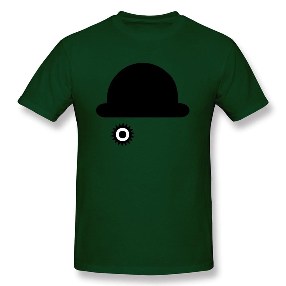 O-Neck Clockwork Orange 23515 100% Cotton Men T-Shirt Casual Short Sleeve Tops Tees 2018 New Camisa Tops & Tees Clockwork Orange 23515 dark