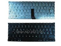 Brand New French Laptop Keyboards For APPLE Macbook Air A1369 13 BLACK For 201 Original New