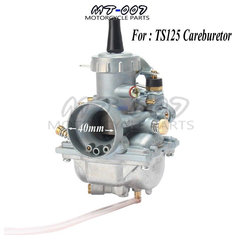 Nouveau carburateur carburateur pour SUZUKI TS125 TS125N TC125 TS100 carburateur