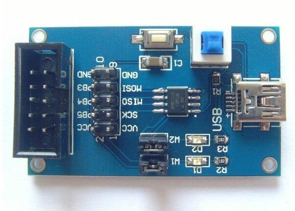 Free Shipping!!!   5pcs ATtiny13 AVR development board core board minimum system