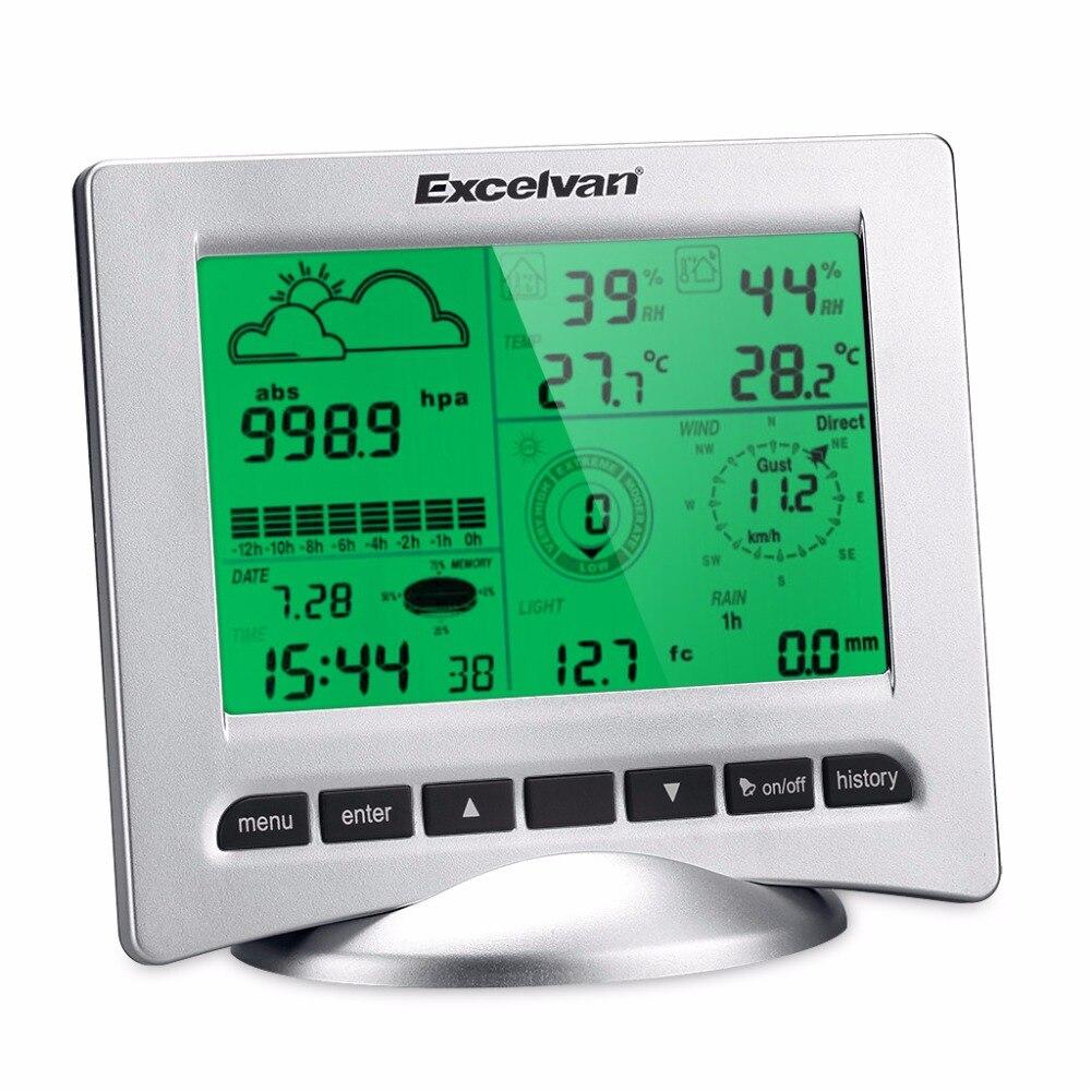 Zeit Wetterstation Datum Alarm Uhr Wireless Temperatur Luftfeuchtigkeit