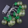10led Battery Operation led string LED Metal Drip String Lights Patio Wedding Party Christmas lights Bedroom Holiday Decoration