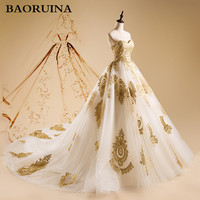 Gorgeous Embroidery Wedding Dresses Ball Gown Sweetheart Court Train Lace Up Back Bridal Dresses New Arrival