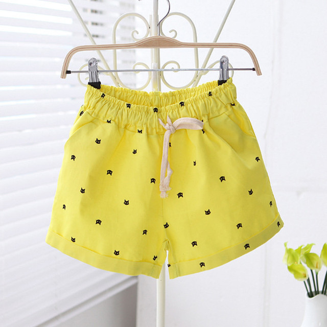 Cats Print Summer Short