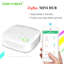 Orvibo Smart Home Zigbee mini Hub Automation Controller ZigBee remoteswitch WIFI Wireless Internet Control by Android IOS phone