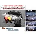 Para volkswagen vw caddy 2 k mk2 traseira do reverso do carro câmera com a Assistência de Estacionamento Faixas Módulo/importação HD CCD Noite visão