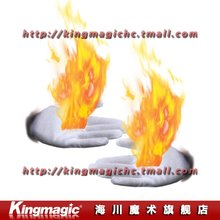 Kingmagic магия перчатки/огонь перчатка/магия игрушки/фокусы/магический реквизит/Элементы новизны/As Seen On TV / по CPAM