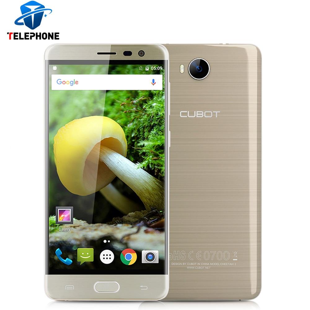 bilder für Auf Lager Cubot Cheetah 2 5,5 Zoll MTK6753 Octa-core Android 6,0 4G Smartphone 3 GB RAM 32 GB ROM FHD 1920*1080 Handy