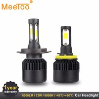 H4 H7 LED T1 Auto Lamps Headlight HB3 HB4 H11 H1 9006 9005 LED Light Bulbs