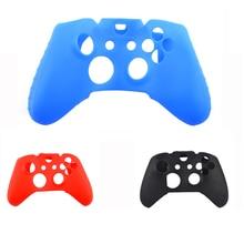 1PCS Anti-slip Мягкий силиконовый резиновый силиконовый чехол для кожи для Xbox One Controller Gaming Handle Accessories