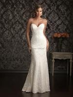 Classical Spaghetti Strap Backless Lace Mermaid Wedding Dresses Best Sale Tea Length Modest Vintage Wedding Bridal