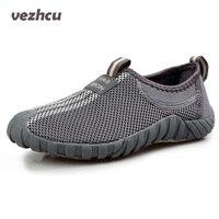 2017 Fashion Men Shoes Casual Loafers Classical Mesh Shoes Breathable Flats Moccasins Men Platform Shoes Plus