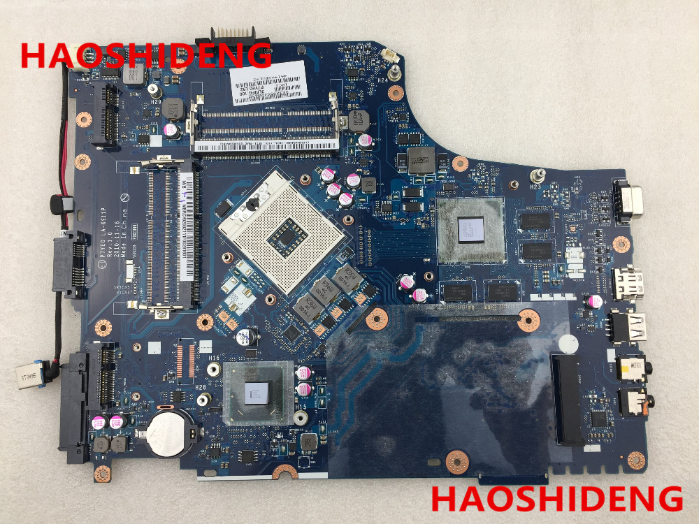Free Shipping MBRCY02002 P7YE0 LA-6911P For ACER Aspire 7750 7750G Laptop Motherboard .All functions 100% fully Tested ! free shipping for acer tmp453m nbv6z11001 ba50 rev2 0 motherboard hm77 tested