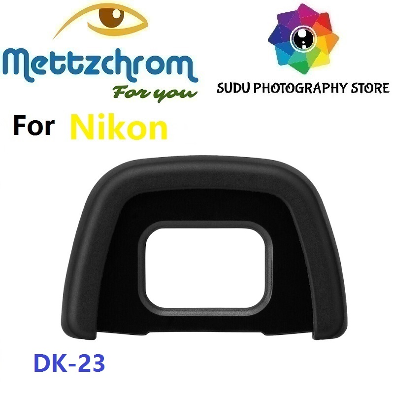 DK-23 Rubber Eyecup Eyepiece For Nikon D300 D300S D5000 D7100 DSLR SLR Camera