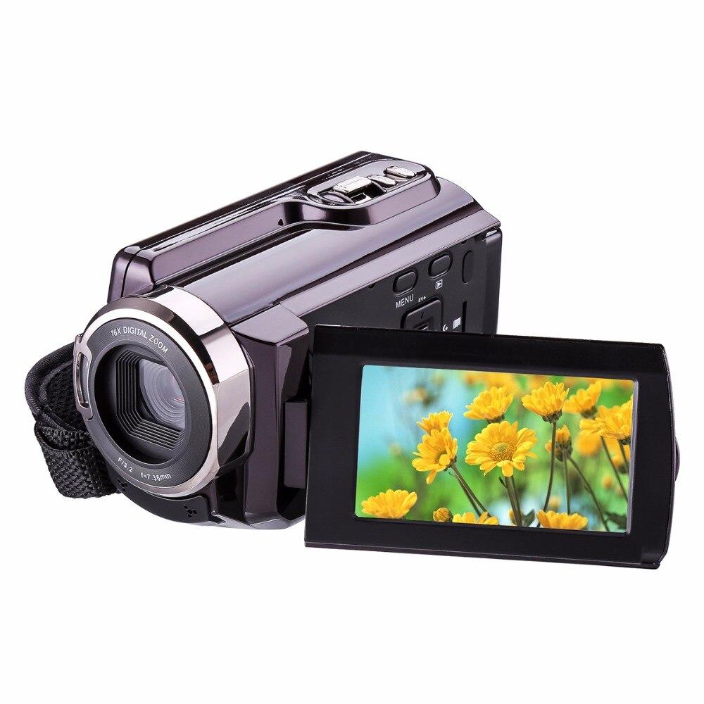 HDV-5053 24MP Full HD 1080P 3.0 LCD Screen Digital Video Camcorder With WiFi DV DSLR Digital Camera IR LCD Touch Screen 2 lcd hd 1080p mms digital infrared