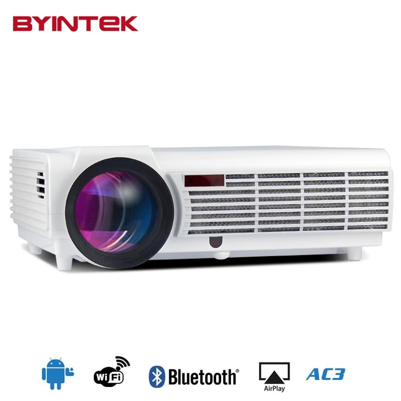 BYINTEK BT96 Smart Android Wifi Home Theater HDMI USB 1080P Bluetooth LCD Video LED fuLL HD