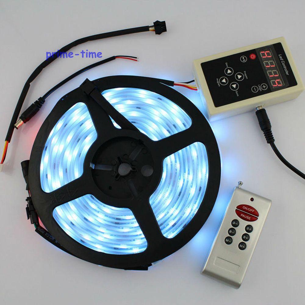 5M DC12V LPD6803 IC 5050 SMD 30LED / M150LEDs IP67 Impermeabil Magic - Iluminat cu LED