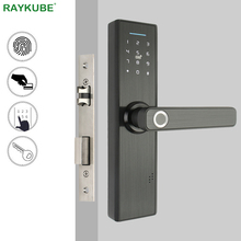 RAYKUBE Biomet Fingerprint Door Lock Smart Card / Digital Code / Keyle