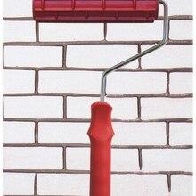 """DIY """" 3D резиновый ролик для рисования стен, украшение дома, художественный ролик, кирпич модного типа paiter rolle EG109T"""