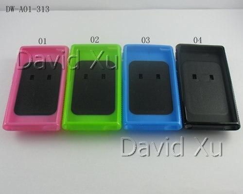Цена за ТПУ Гель Резина Задняя Крышка Крышка для iPod Nano 7 Случае С ПК Жесткий Клип 30 ШТ./ЛОТ