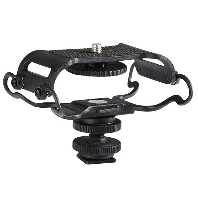 BY C10 Microfoon Shock Mount Voor Zoom H4n/H5/H6 Voor Sony Tascam Dr 40 Dr 05 recorders Microfone Shockmount Olympus Tascam