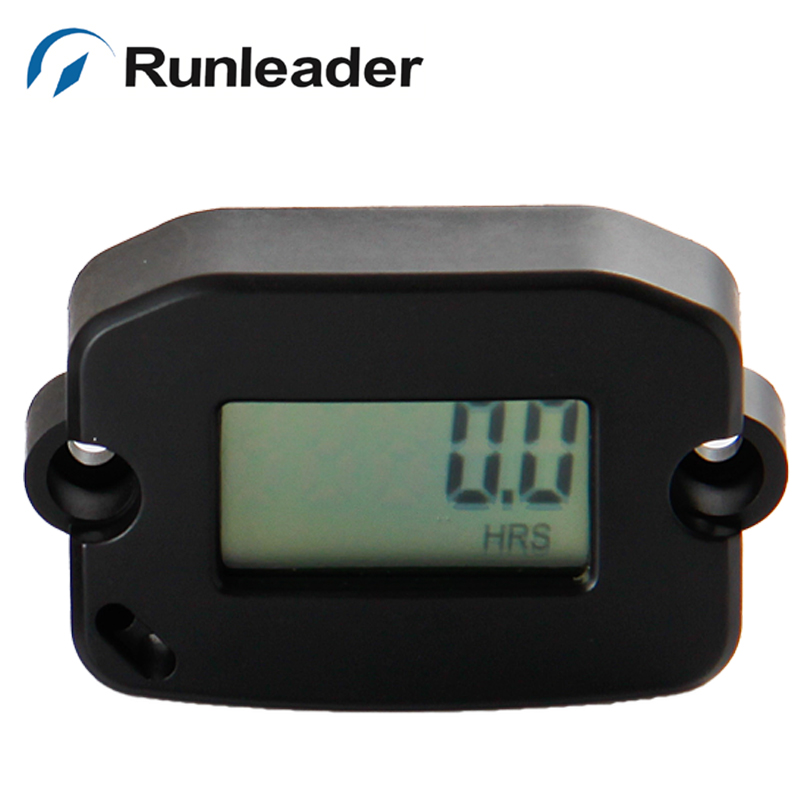 Digital RPM Tach Hour Meter For MX motorcycle jet ski jet boat tractor lawn mower motocross dirt bike pit bike marine gas engin