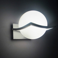 New arrival unique and novelty led wall lamps glass ball wall lights for home E27 AC85V 265V free shipping