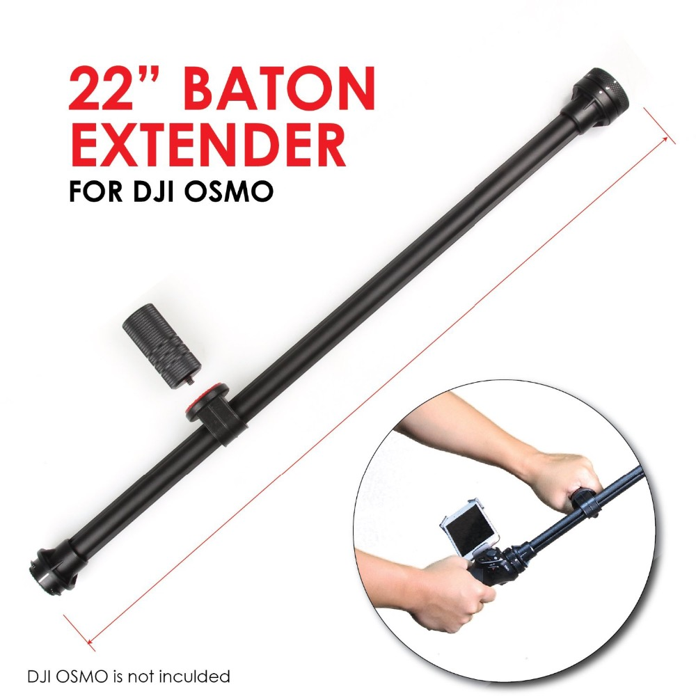 Kamerar Baton Extender for DJI Osmo Handheld font b Camera b font Extension Pole Accessory Selfie