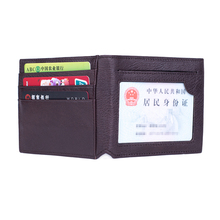 Multifunction Real Leather Card Holder Credit ID Driving License Cover TOP Quality Identity Badge Holder Bank Card Holder Wallet