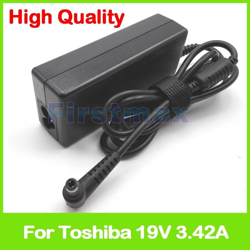 19 V 3.42A ordinateur portable adaptateur secteur chargeur pour Toshiba Satellite C655 C655D C660 C660D C665 C665D C670 C70 C70-A C70-C-10l C70-C-1FT