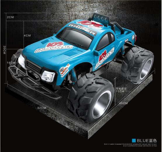 Express transport High Quality FC103 4CH 1:10 45CM large RC massive truck radio control monster truck car model with LED lights ботинки hcs hcs hc077awzlb41