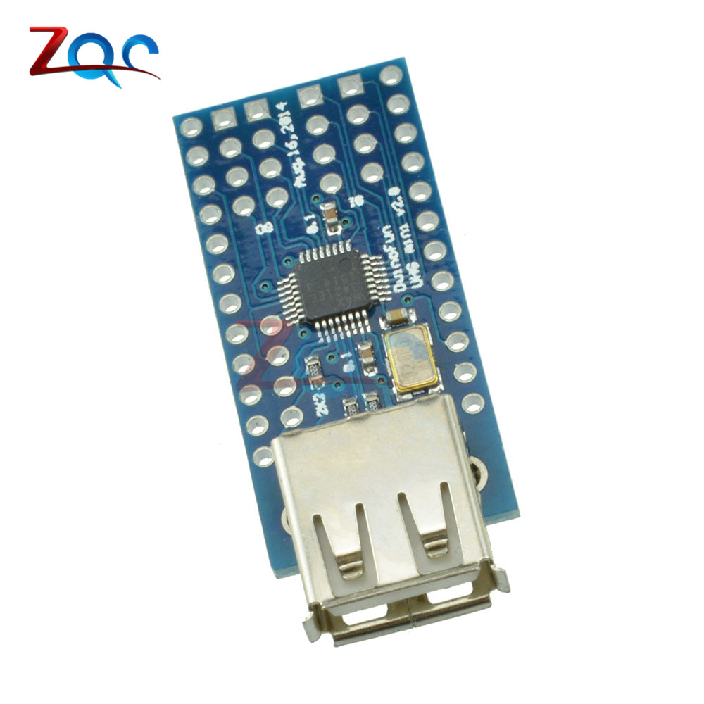 Mini USB Host Shield Support Google ADK For Arduino UNO MEGA Duemilanove Expansion Module Board SPI Interface expansion module elc md204l text panel