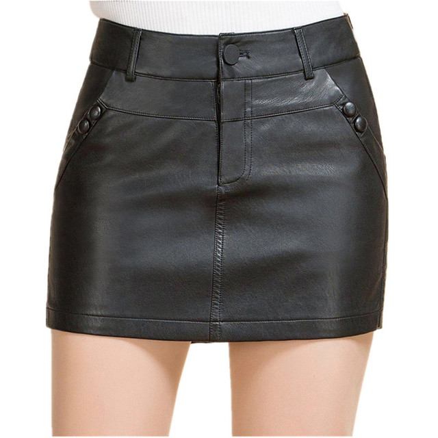 Wonderbaar Leren Hotpants M 4XL Womens Shorts Club Dragen Shorts Lederen BD-51