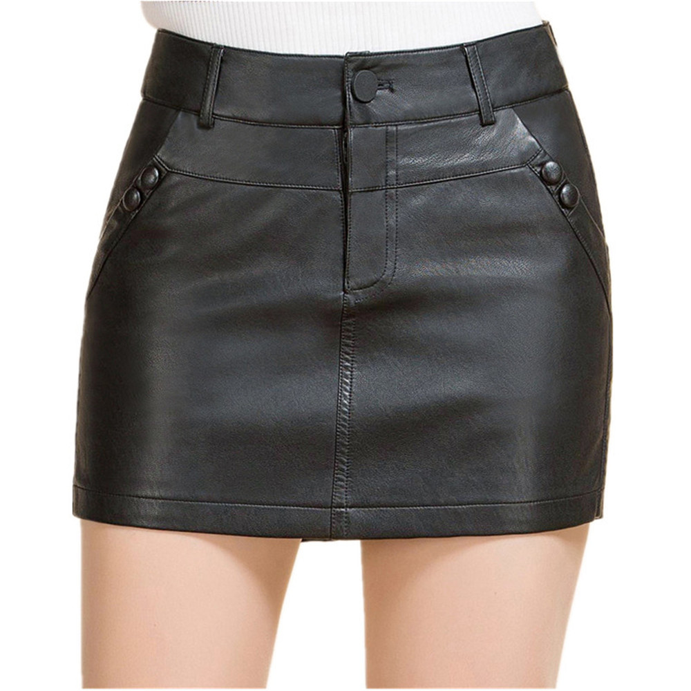 Leren Hotpants M 4XL Womens Shorts Club Wear Shorts ...
