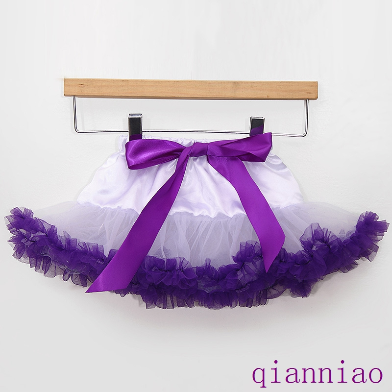 Newborn baby girl tutu skirt Photography pettiskirt layers cake mini skirt 0-12Mo kids Christmas gift