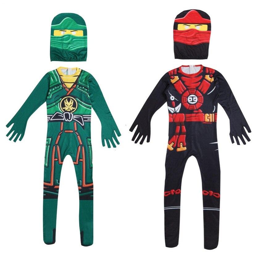 Phantom Ninja Cosplay Costume, Halloween Lego Ninja Hero Boy And Girl Party Props Play Costume