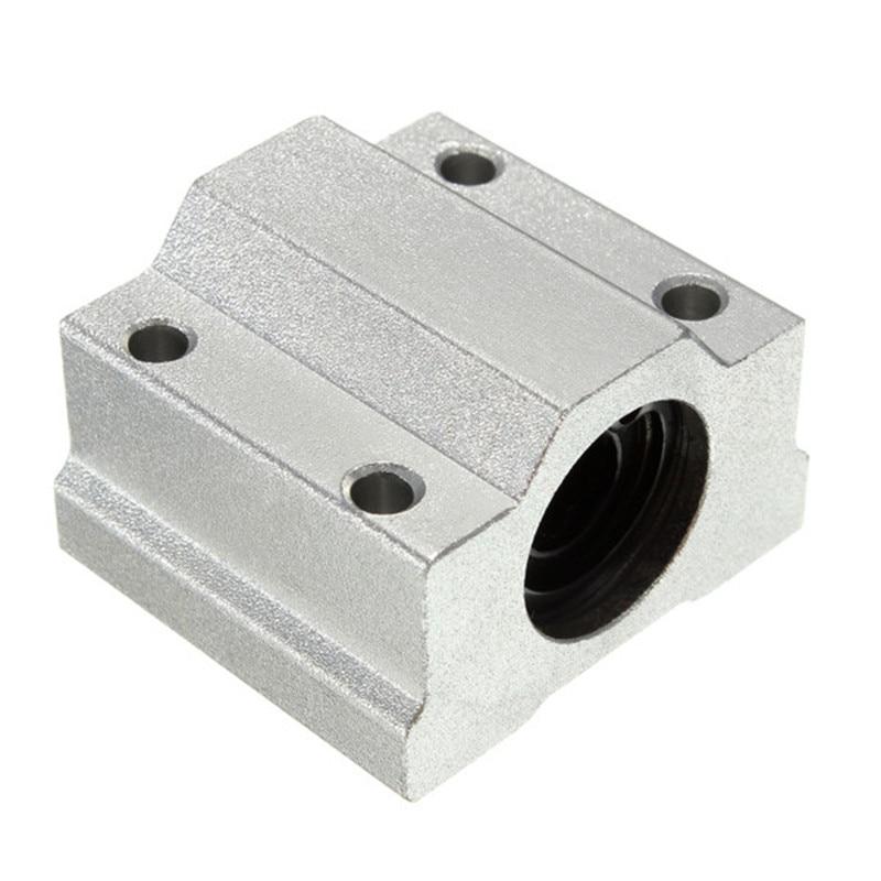 1pc SC8UU 8mm Aluminum Linear Motion Ball Bearing Slide Bushing Linear Motion Ball Bearing For CNC 3D Printer Shafts Rod
