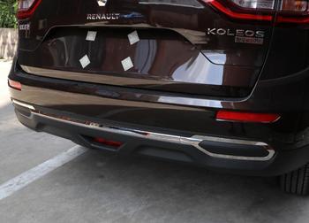 JINGHANG רכב נירוסטה אחורי דלת מסגרת הדלת האחורית תחתון תא מטען צלחת trim Fit לעדשות עבור רנו Koleos 2017 2018