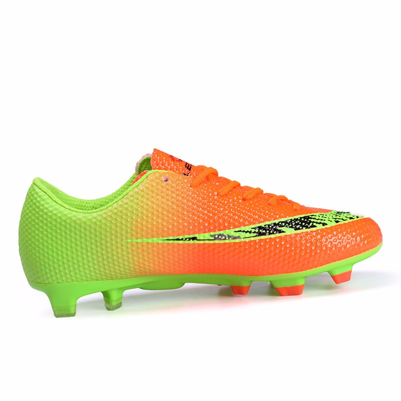 New FG Football Boots Cleats Soccer Shoes Kids Boys Girls Chuteiras botas de futbol voetbalschoenen chaussure foot Chuteiras 1