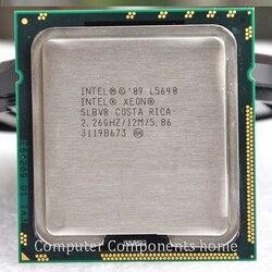 L5640 Cpu Enam Nuklir Versi Resmi 12 Thread Server U Dukungan X58 LGA 1366 Papan Utama DDR3-1066, DDR3-1333 Gratis Pengiriman