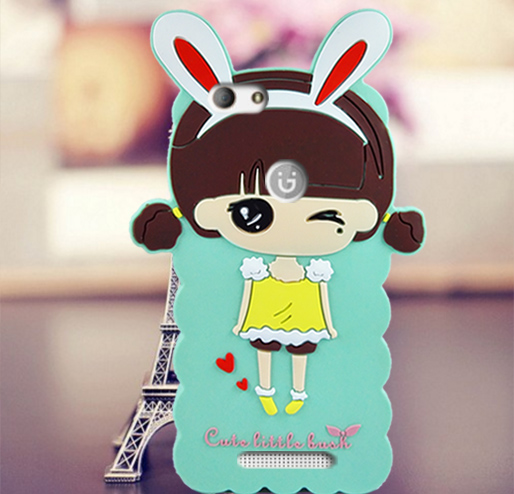 Rabbit Shape Cartoon Case for Highscreen Power Ice Max Pattern Mobile Phone Silicon Cover Free
