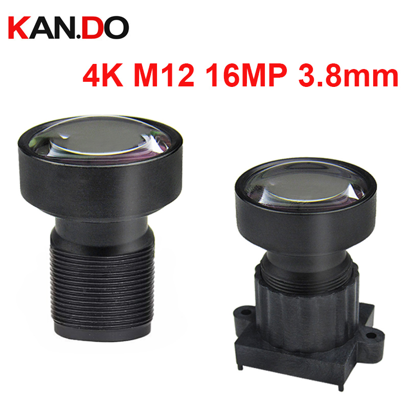 4K m12 3.8mm Lens M12 16.0MP lens Action Camera Lens Drones Lens 1/2.3 For Drones and all sport cameras drones cd