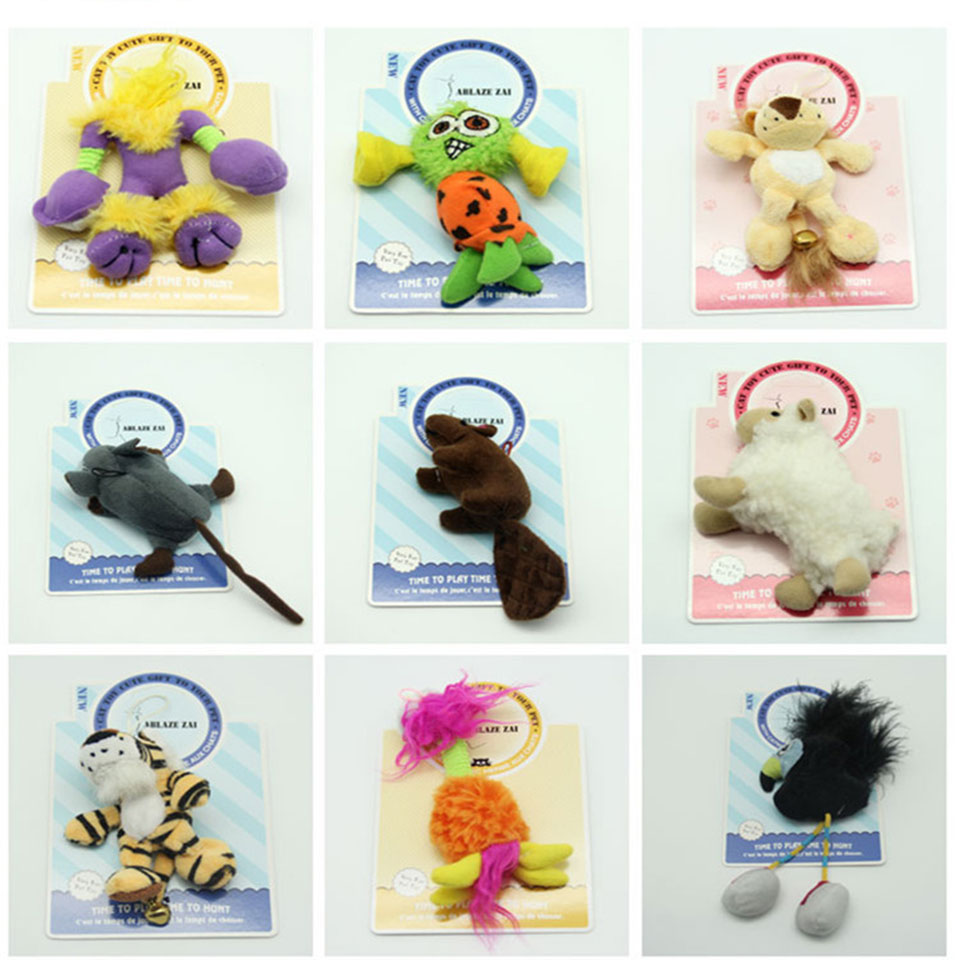 Petcircle собаку Игрушки для маленьких собак, писк плюшевые игрушки чистки зубов нетоксичные перо кричать животных звук форма Pupp