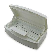 KADS 10pcs/set Nail Tool Sterilizer Tray Box Sterilizing Clean Nail Art Salon Portable For Nail Art Salon Tool Newest Classic